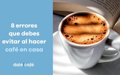 8 errores que debes evitar al hacer café en casa
