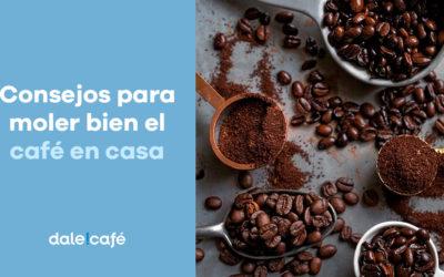 Consejos para moler bien el café en casa