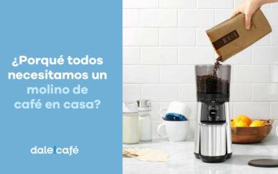 ¿Por qué todos necesitamos un molino de café en casa?