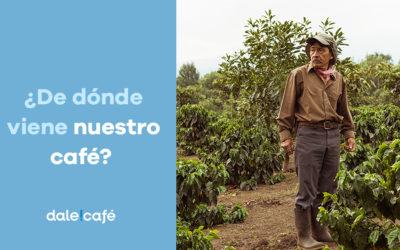 De dónde viene nuestro café