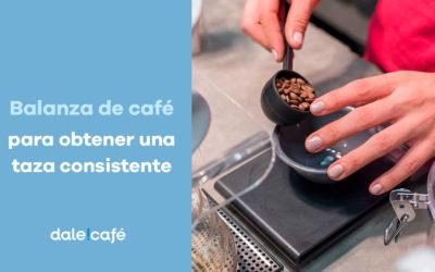 ¿Cómo una balanza de casa nos ayuda a obtener una taza de café consistente?