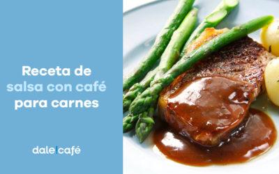 Receta de salsa con café para carnes