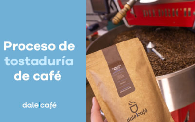 Proceso de tostaduría de café