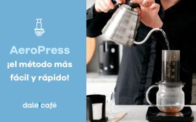 AeroPress ¡el método más fácil y rápido!