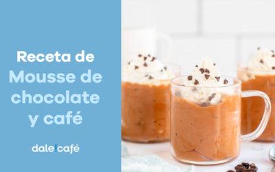 Receta de Mousse de chocolate y café